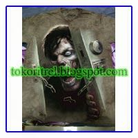 Kaos 3D Zombie at The Door FF00355 -http://tokoritrel.blogspot.com/2013/09/kaos-3d-zombie-at-door-ff00355.html#.Uj5kitKBlII