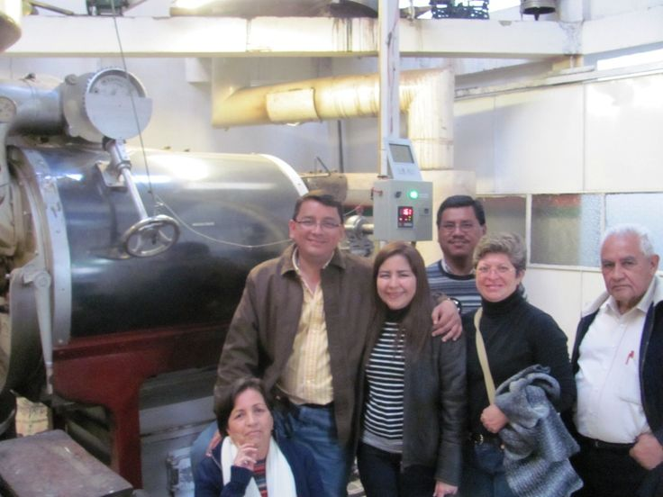 Learn how to make coffee in a Colombian factory