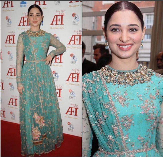 Tamannaah Bhatia in at the Arts for India Golden Gala charity at BAFTA
