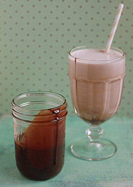 Homemade Chocolate Syrup!  I'm so excited to to find this recipe. You probably have all the ingredients in your cupboard!  I do love the Hershey stuff but this is one is HOMEMADE!