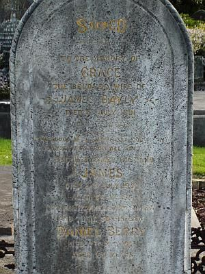 Bayly tombstone