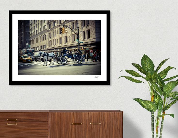«New York», Numbered Edition Art Print by haroulita - From 18€ - Curioos  #newyork #nyc #travelphotography #streetart  #homedecor #homedecorideas #homedecoration #artdeco #wallart #wallprints #centralpark