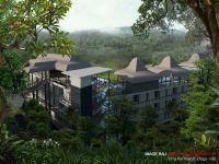 Exterior Bangunan Hotel Uma Asri Resort Plaga