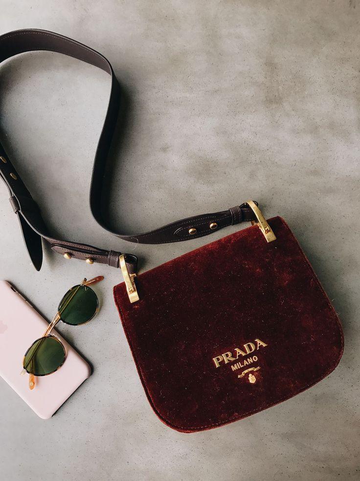 Velvet Prada Bag