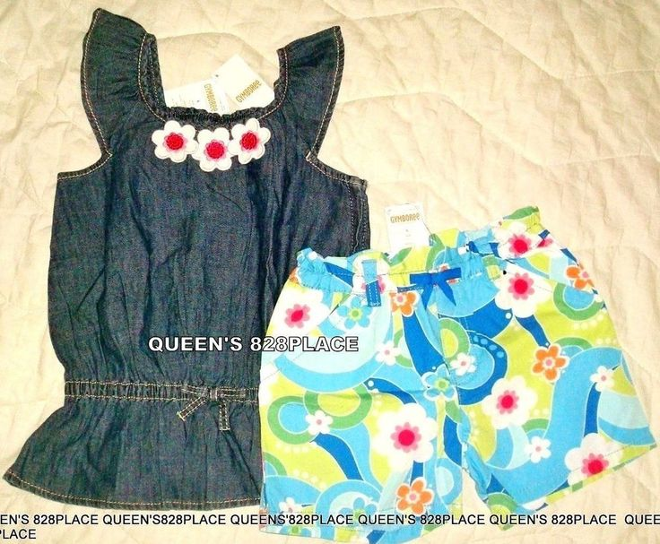 NWT GYMBOREE Girls MIX N MATCH Flowers Floral Ruffle Knit Dress Size 5t