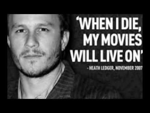 Happy Birthday Heath Ledger!!!!!!! - YouTube
