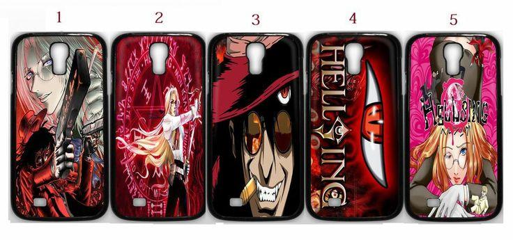 Hellsing Anime Manga Samsung Galaxy S4 Fitted Case/Skin Case Black (1Pcs)