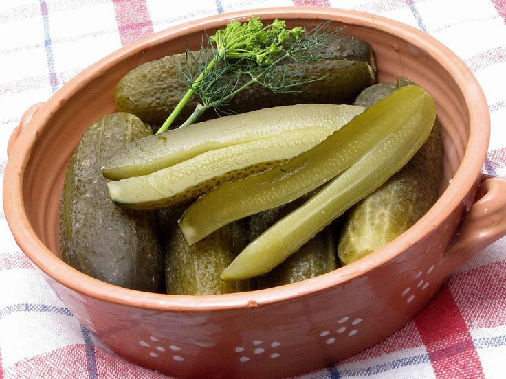 Hungary - food and drink - sour dill pickles (kovászos uborka)