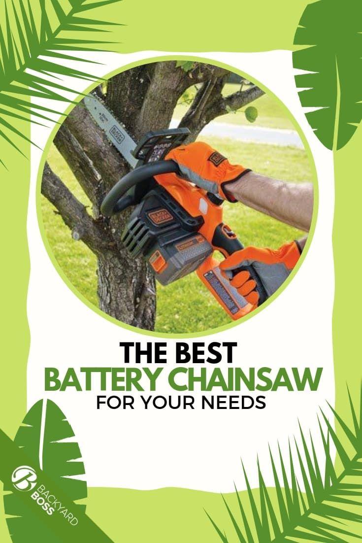 Best Battery Chainsaw Reviews Backyard Crafts Battery Chainsaw Chainsaw Reviews