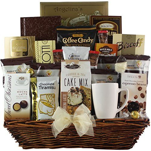 GreatArrivals Gift Baskets Coffee Lovers Dream: Gourmet Coffee Gift Basket