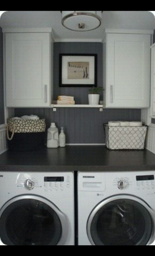 46 Best Images About Washer And Dryer Spaces On Pinterest