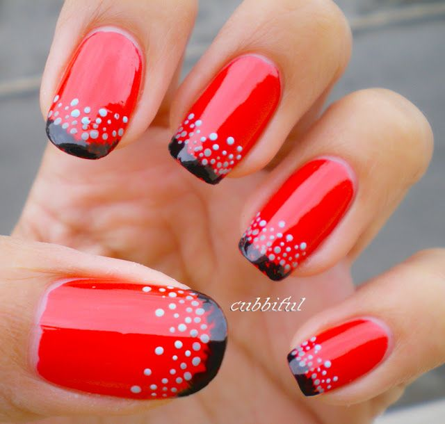 Que Significa Black Nail Polish: 25+ Best Ideas About Red Nail Designs On Pinterest