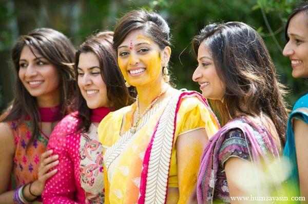 indian wedding portrait pithi haldi bride http://maharaniweddings.com/gallery/photo/11650