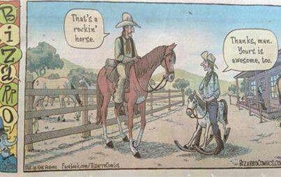 Cowboy humor