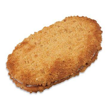 빵위에는 담백한 소보로가 빵사이에는 달콤한 딸기잼이 들어있는 제품.