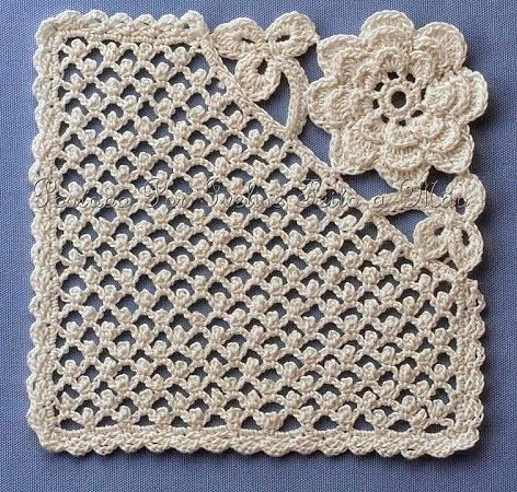 OMGoodness..I love this. A NOT your normal granny square. The others at this site are just a gorgeous!! I'm so making a blanket with this. ☂ᙓᖇᗴᔕᗩ ᖇᙓᔕ☂ᙓᘐᘎᓮ http://www.pinterest.com/teretegui