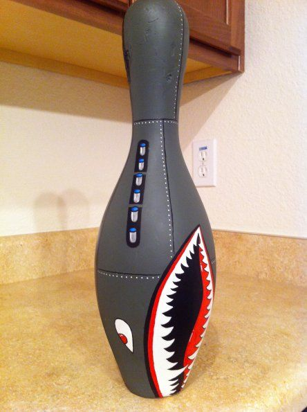 bowling pin art - Google Search