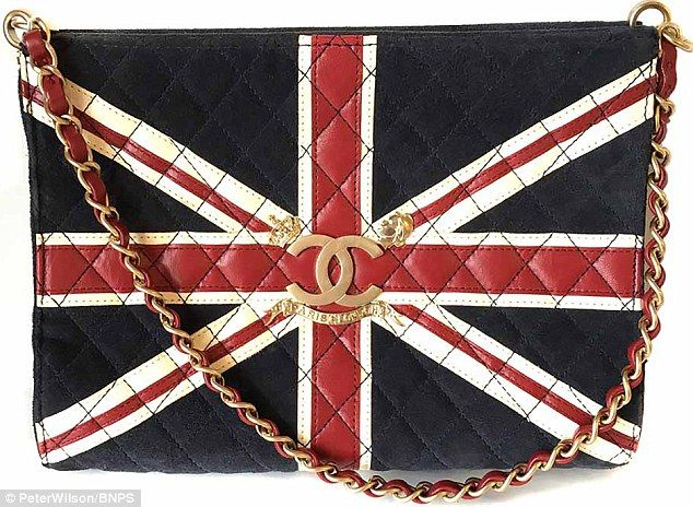 The event will represent a huge chance for people to snap up designer labels worth several thousands of pounds for a fraction of the price and will include this Chanel union jack leather bag