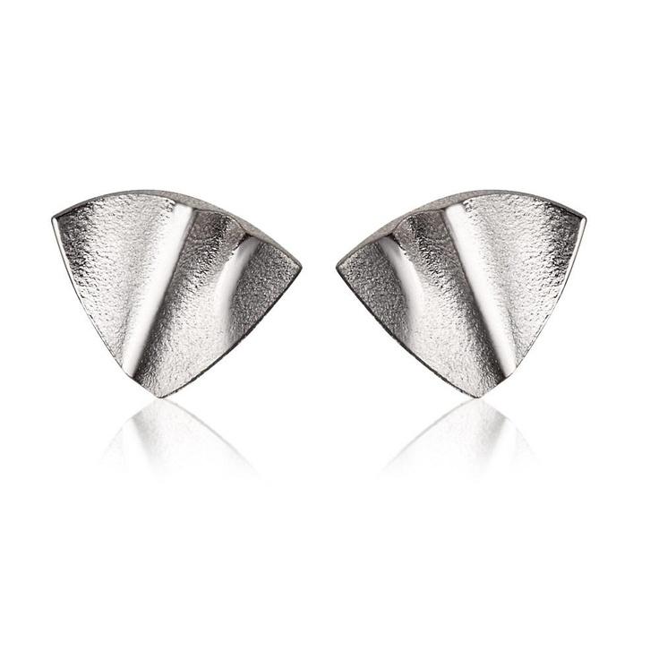 CLAUDEM  Design Zoltan Popovits / Silver Earrings / Lapponia Jewelry / Handmade in Helsinki