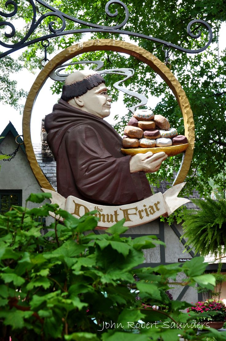 So many people love to stop and grab a donut at the Donut Friar at the Village in Gatlinburg.