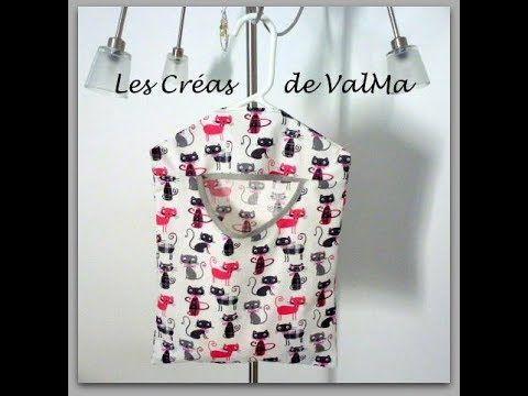 Tuto Couture Sac de Rangement à suspendre / Sewing - YouTube