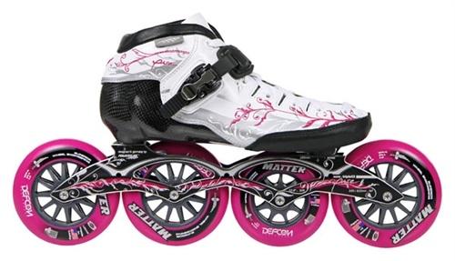 powerslide core triple x2 pure inline speed skate, core triple x2 pure skate with powerslide z frame and z wheels
