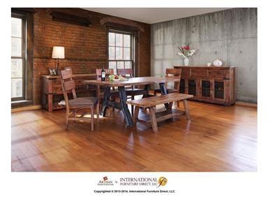 Wooden Table Top International Furniture Direct Parota