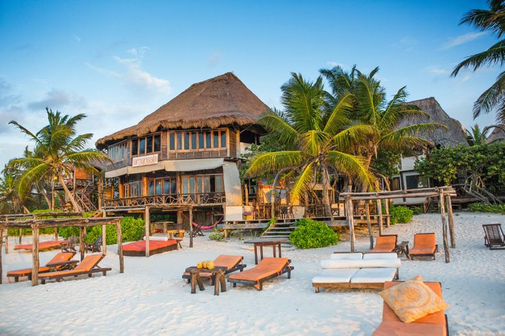 Amansala Resort Hotel Spa Tulum Mexico offers relaxed eco chic accommodation like no other boutique hotel in Tulum Mexico