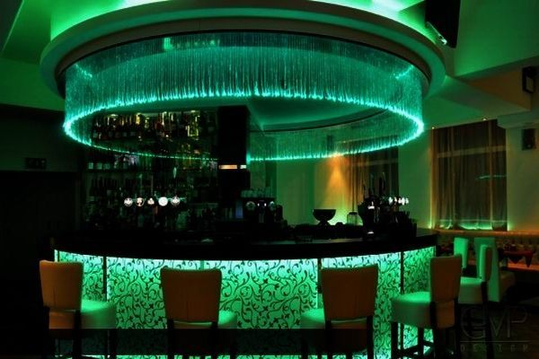 Fiber optic and led lighting interior design idea in for Interior decorative lighting products