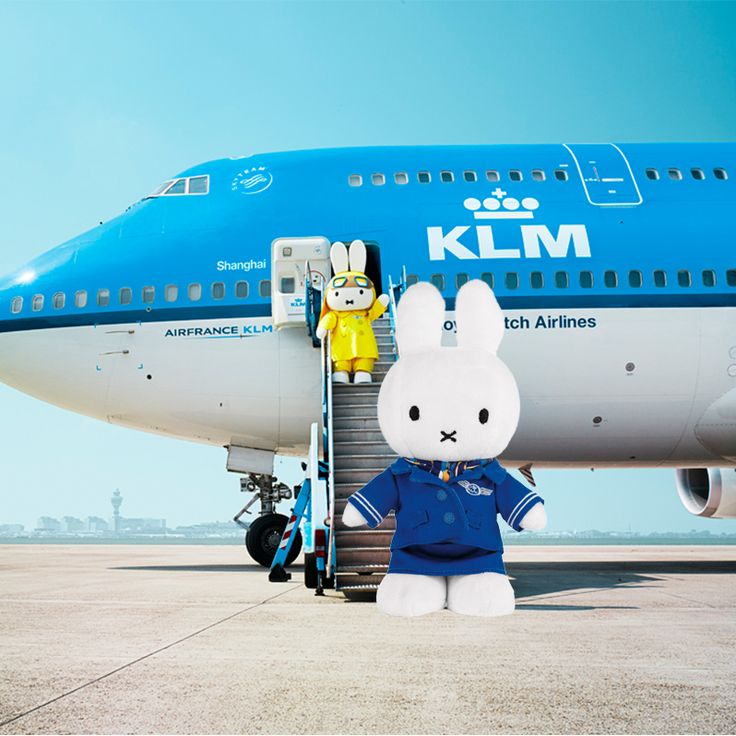 #Miffy in #KLM uniform http://klmf.ly/1gvtdz3