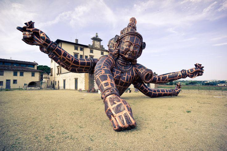 le foto della mostra di Zhang Huan al Forte Belvedere