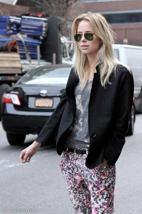 if i ever have to go bottle blonde...Elin Kling is my swedish blonde muse