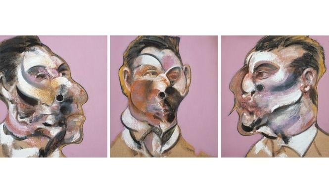 『フランシス・ベーコン展』 《ジョージ・ダイアの三習作》1969年 ルイジアナ近代美術館 ⓒ The Estate of Francis Bacon. All rights reserved. DACS 2012 Z0012