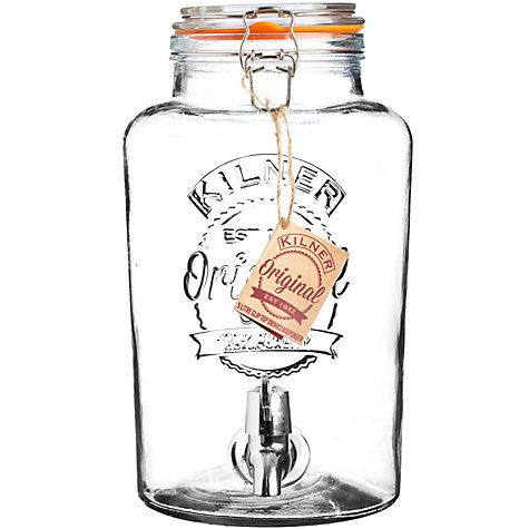 Buy Kilner Drinks Dispenser, 5L Online at johnlewis.com