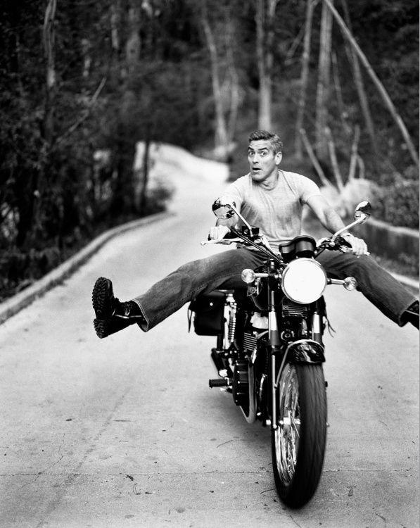 Triumph Motorcycles - Clooney's Bonnie.
