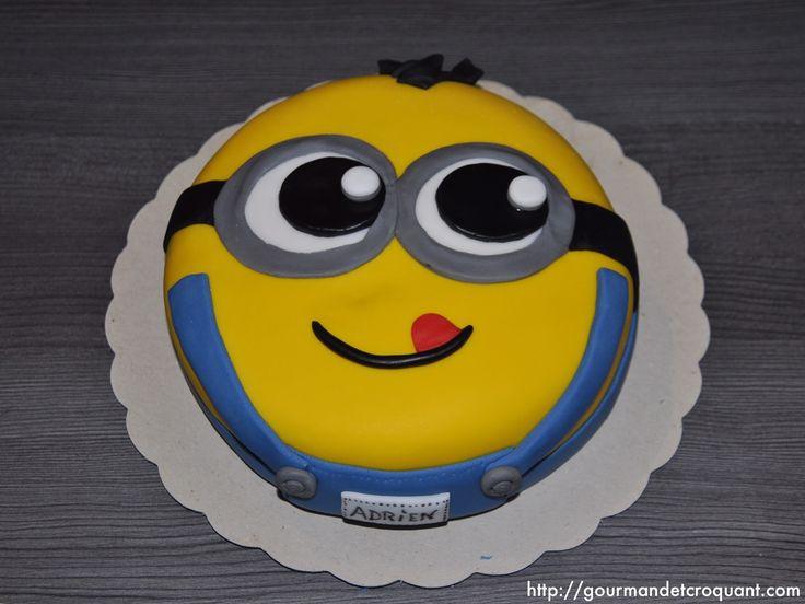 """Gourmand et Croquant: Gâteau d'anniversaire """"Minions"""""""