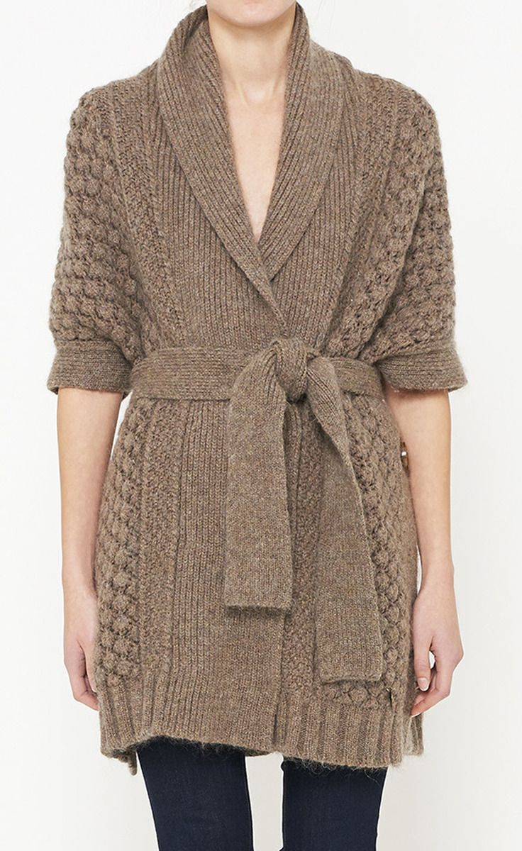 See By Chloé Brown Cardigan