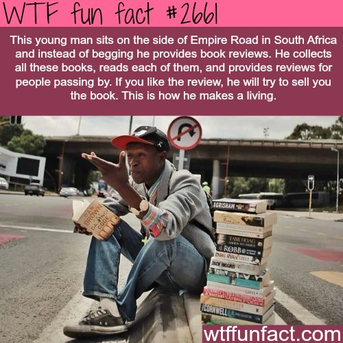 Awesome people around the world - WTF fun facts