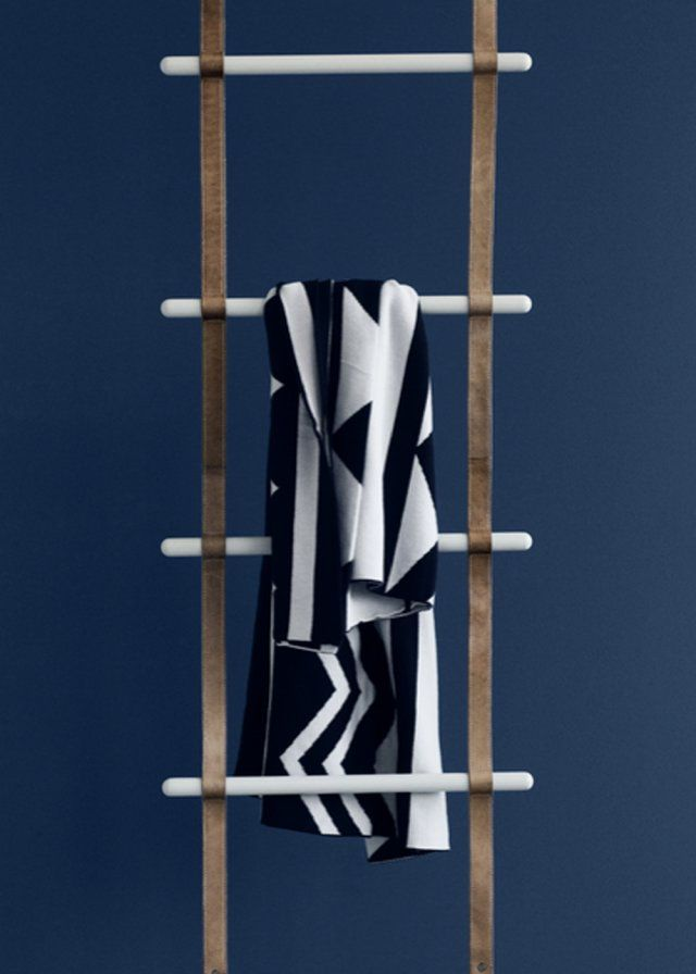 Porte-serviette Leather Ladder - Ferm Living
