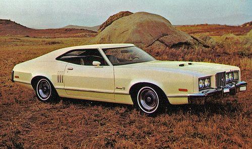 1973 Mercury Montego GT 2 Door Fastback