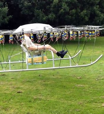 The Swarm, il maxi drone col passeggero a bordo