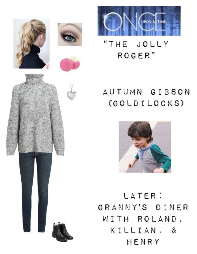 """""""OUAT - S3E17: """"The Jolly Roger"""" - Autumn Gibson (Goldilocks)"""" by nerdbucket ❤ liked on Polyvore featuring Yves Saint Laurent, Alexander Wang, Blue Nile, Once Upon a Time and Eos"""