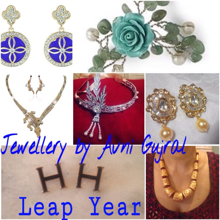 Jewellery by Avni Gujral wishes you a very Happy Leap year!