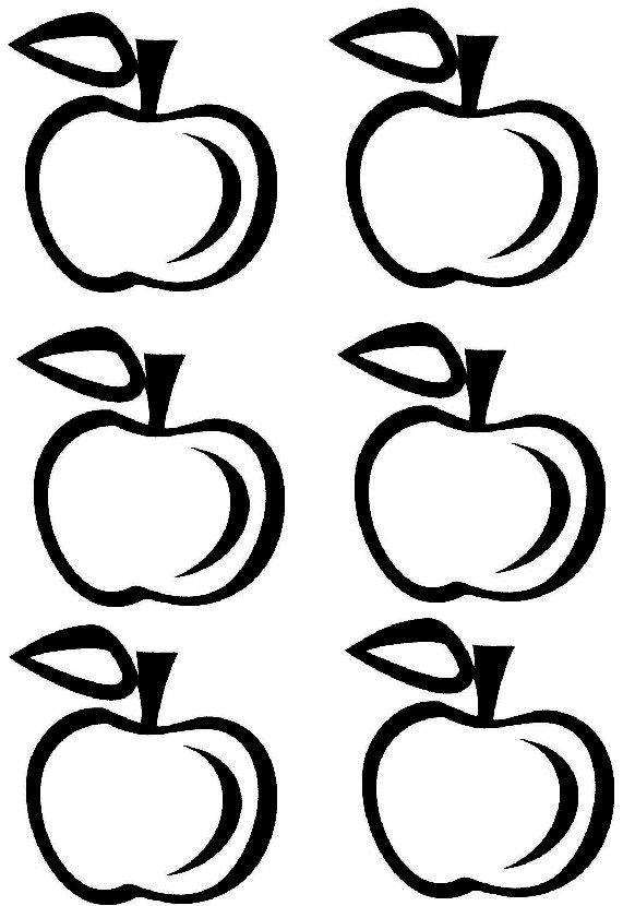 Printable Apple Crown Apple Template Apple Coloring Pages Apple Letter Activities