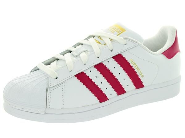 Superstar Shoes The sneaker with the shell toe, made for younger fans. A style icon is remade for younger feet in these adidas Originals Superstar shoes. The ju