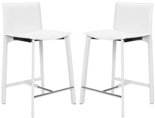 Safavieh Home Collection Callie White Leather 24-Inch Counter Stools, Set of 2 Safavieh http://www.amazon.com/dp/B0089KZZSK/ref=cm_sw_r_pi_dp_ZXTPtb1ZN0P0AWKC