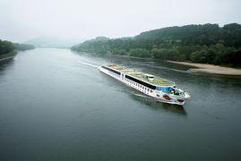 A-ROSA Schiffe auf der Donau