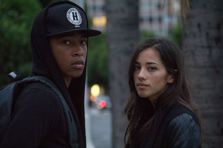 Jacob Latimore and Seychelle Gabriel in Sleight (2017) (9)