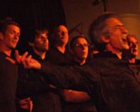 Waiheke's very own all male choir, V12, led by the one and only Pat Urlich are having a second concert at Stefano's
