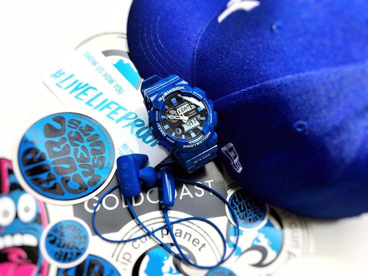 G-Shock GAX-100MA-2A – Sapphire Blue Sea Waves